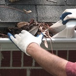 Gutter Cleaning work by Clearview